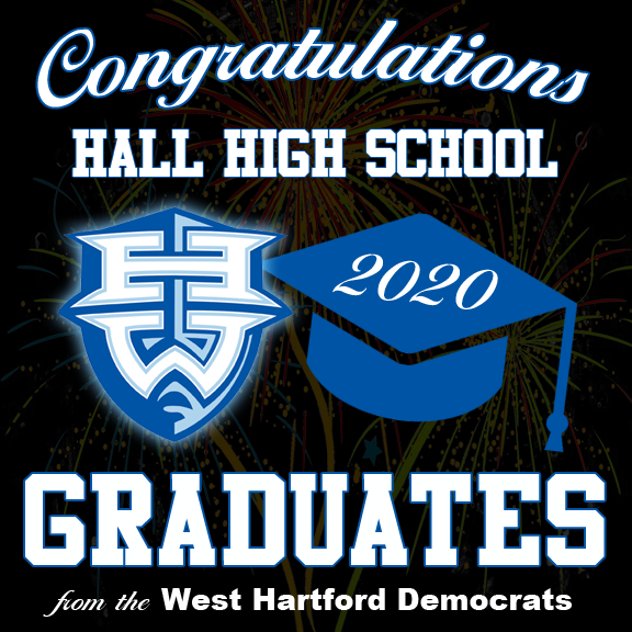 Congratulations to our Hall High School Seniors class of 2020